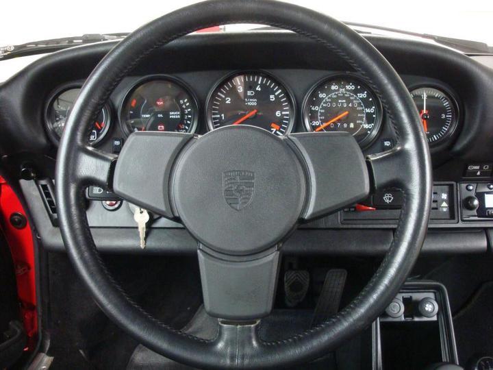 1984 Porsche 911 Turbo Slantnose steering wheel