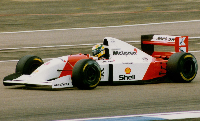 Senna 1993 McLaren MP4/8
