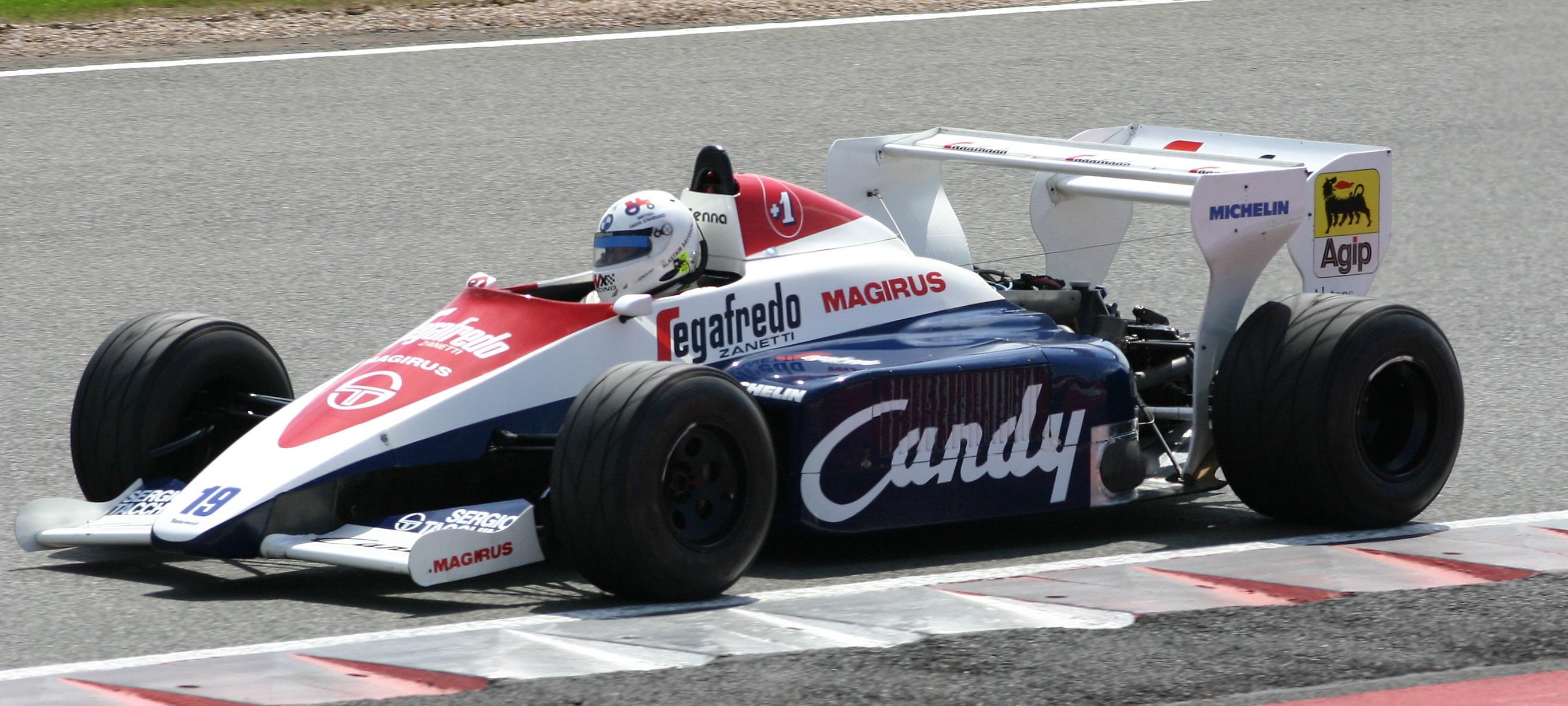 Senna 1984 Toleman TG184