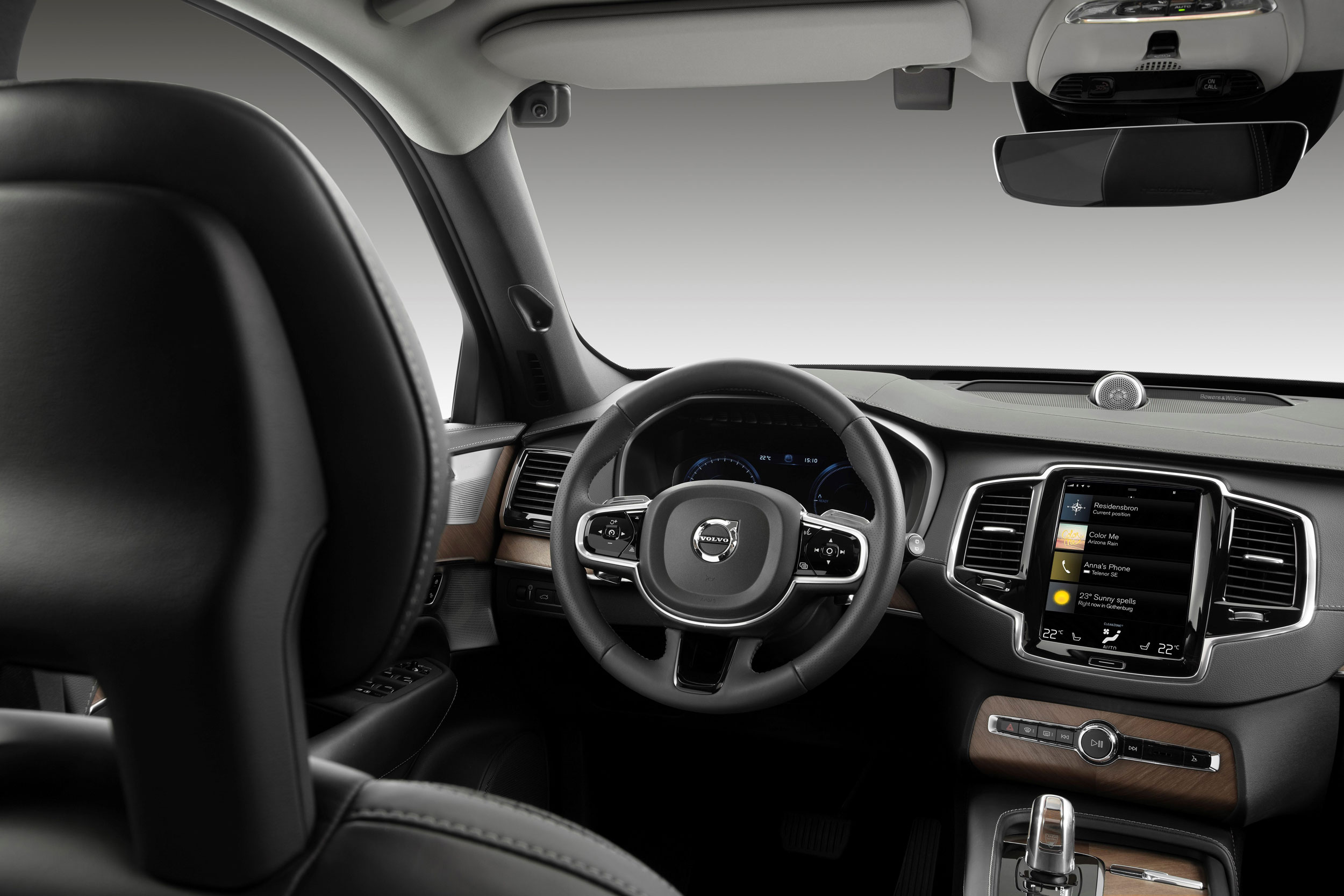 Volvo in-car dash cam