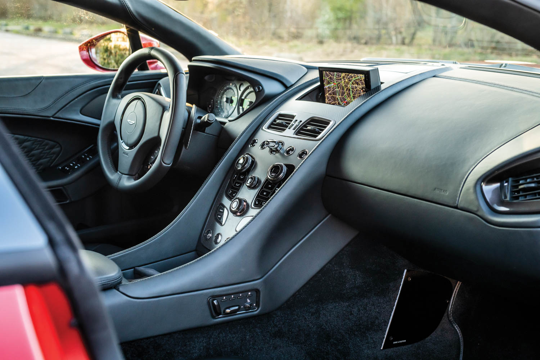 2019 Aston Martin Vanquish Zagato Shooting Brake interior