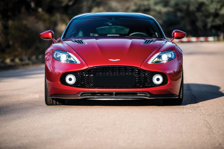 2019 Aston Martin Vanquish Zagato Shooting Brake front