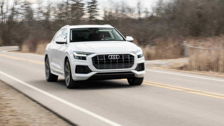 2020 Audi Q8 3/4 front