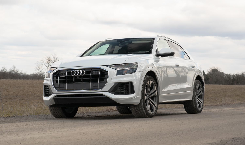 2020 Audi Q8 3/4 front low