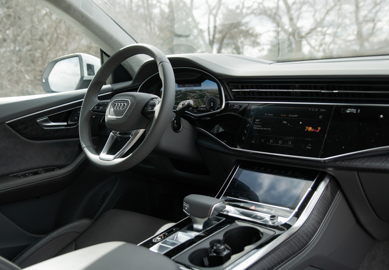 2020 Audi Q8 dash layout
