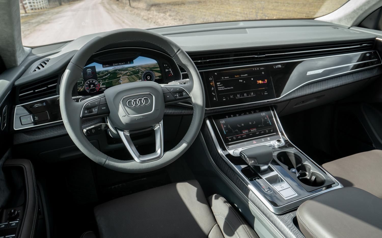 2020 Audi Q8 interior driver