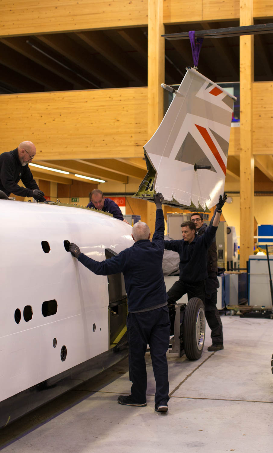 Putting the fin on Bloodhound LSR