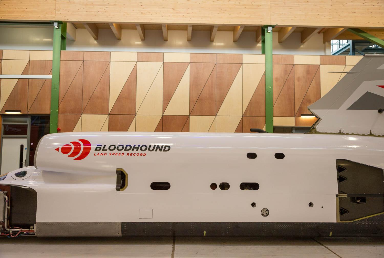 Bloodhound engine fuselage
