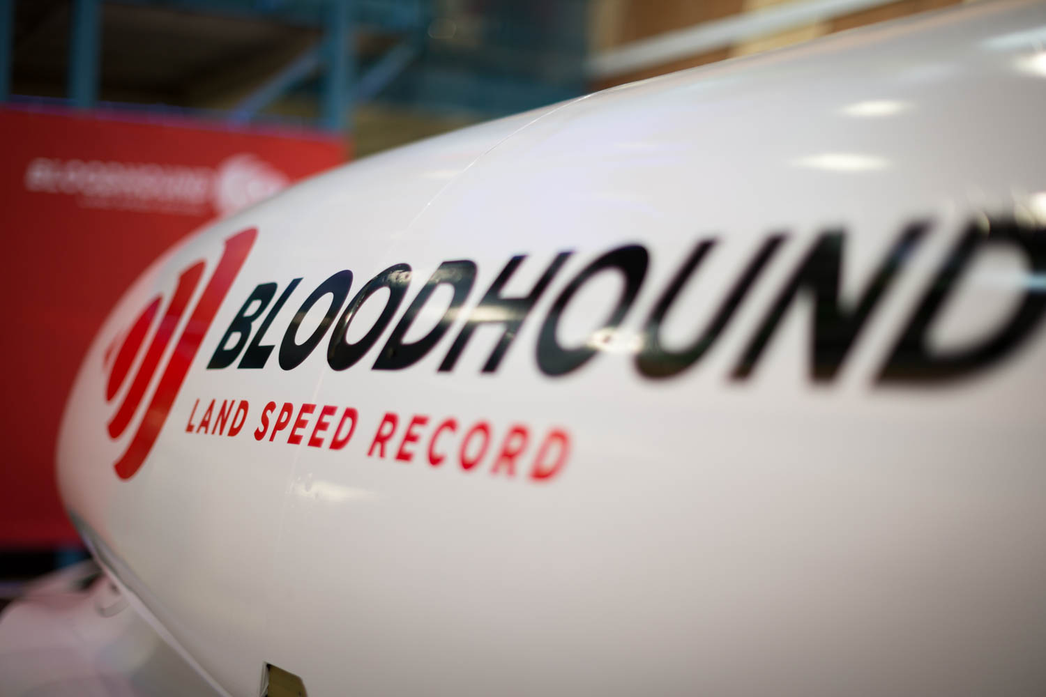Bloodhound Land Speed Record graphics