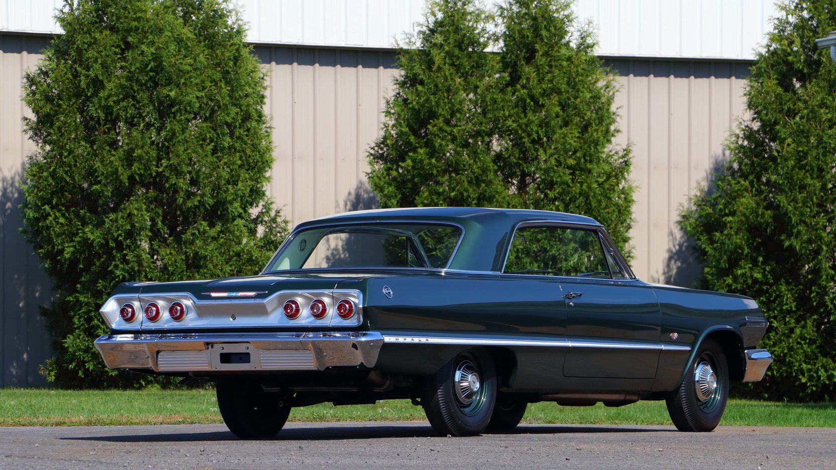 1963 Chevrolet Impala rear 3/4