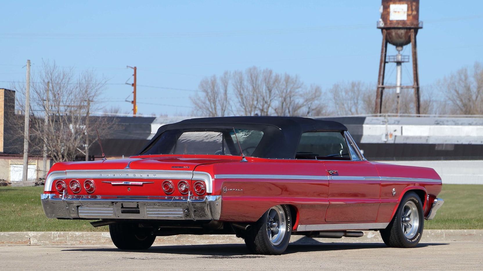 1964 Chevrolet Impala rear 3/4
