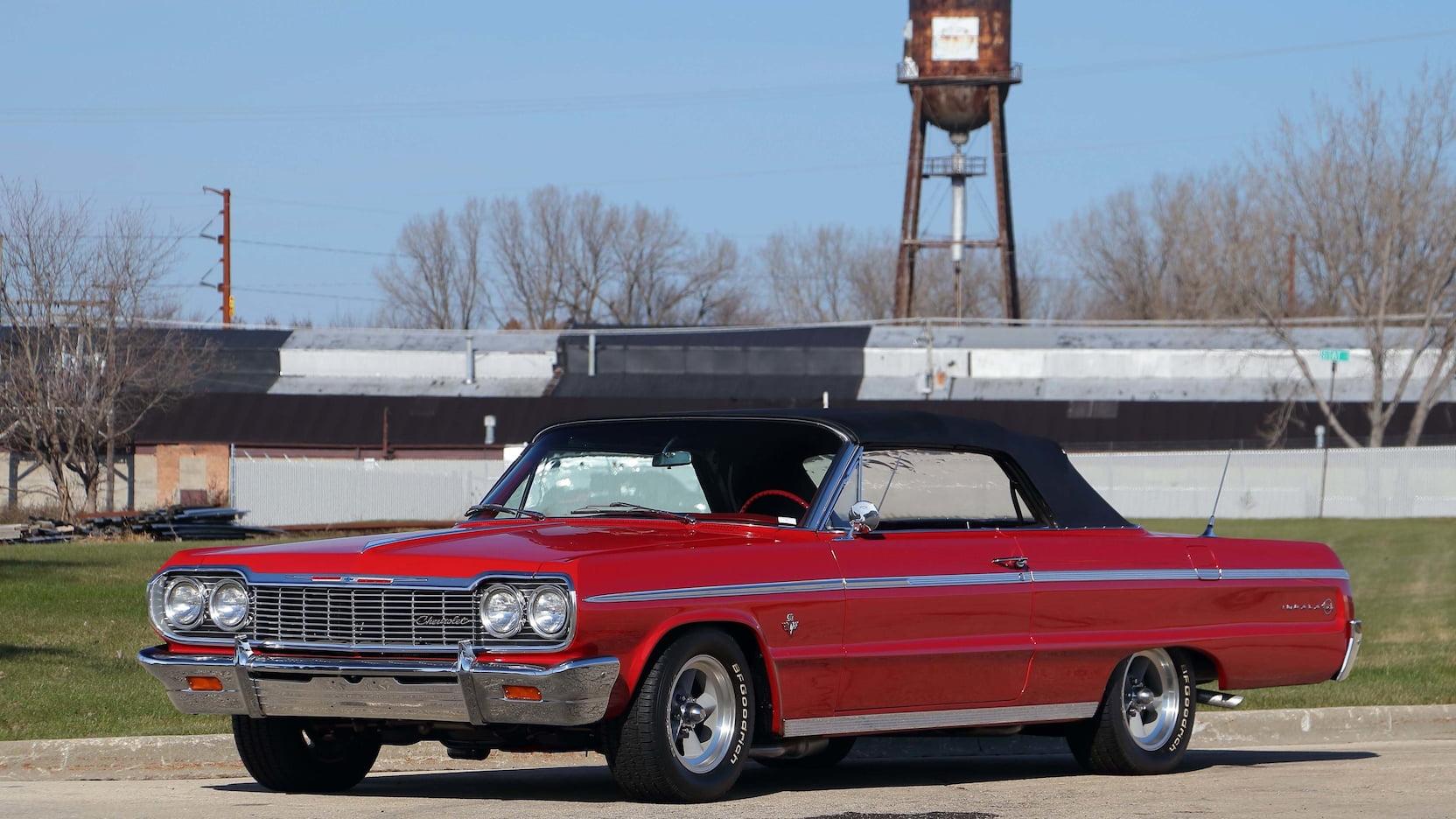 1964 Chevrolet Impala front 3/4
