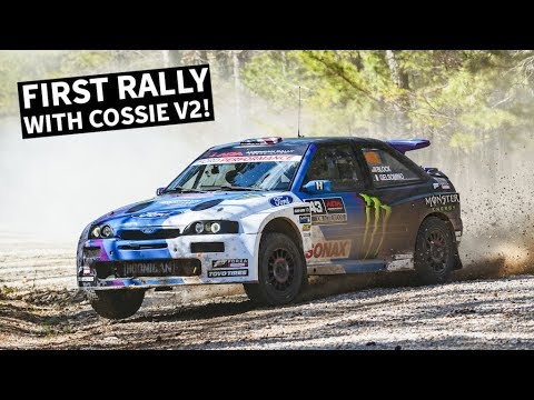 Ken Block's Ford Escort Cosworth world tour suffers a case of grenaded engine thumbnail