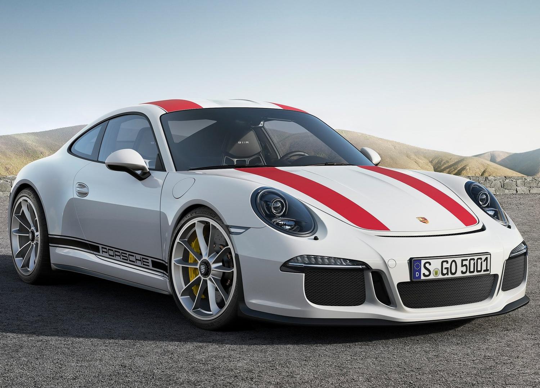 2017 Porsche 911 R 3/4 rear