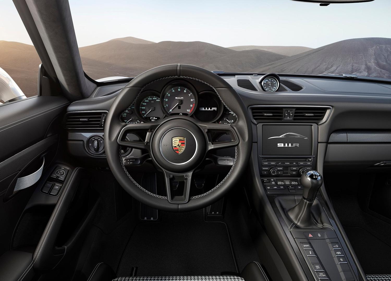 2017 Porsche 911 R above