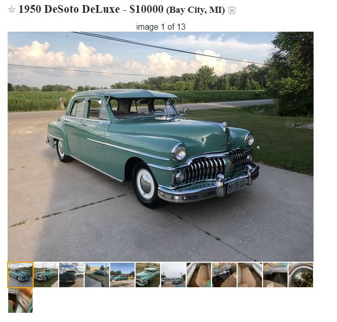 Desoto for sale on craigslist