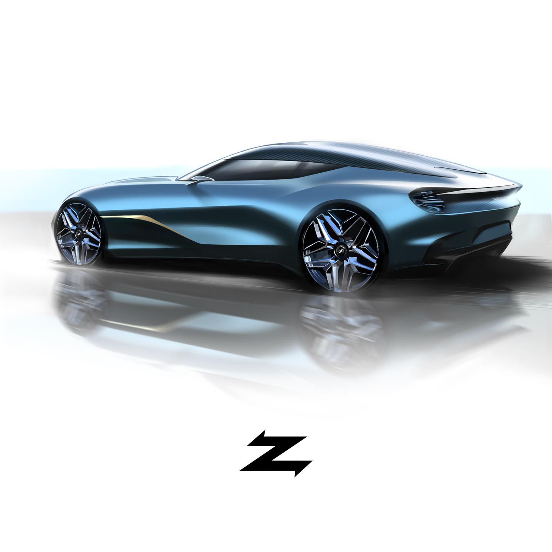Aston Martin DBS GT Zagato 3/4 rear