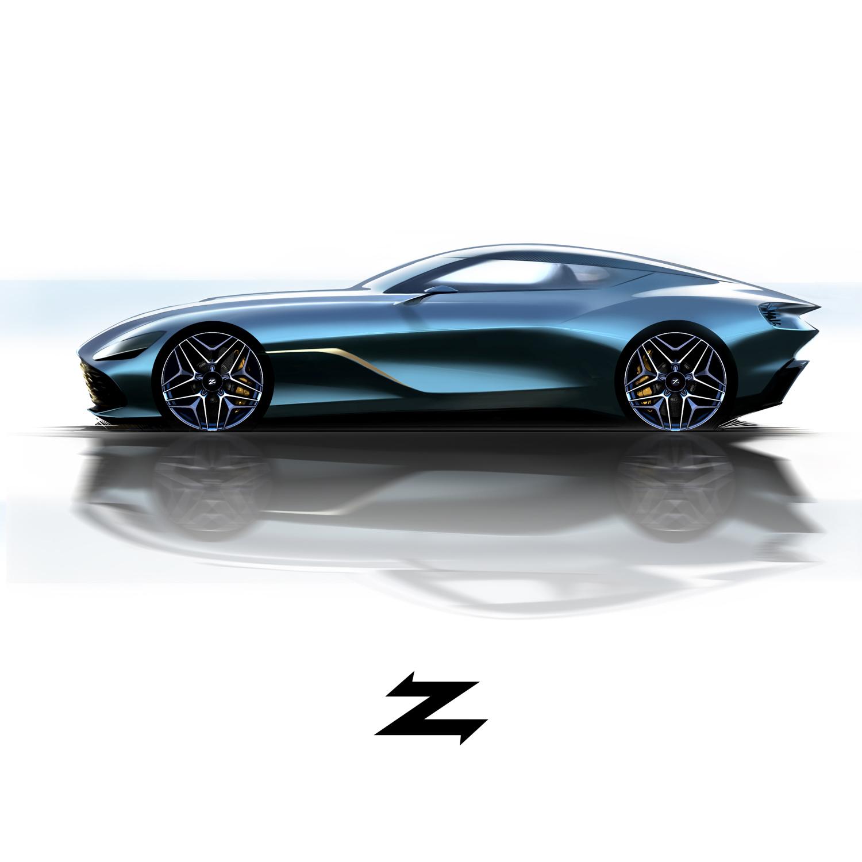 Aston Martin DBS GT Zagato  side profile