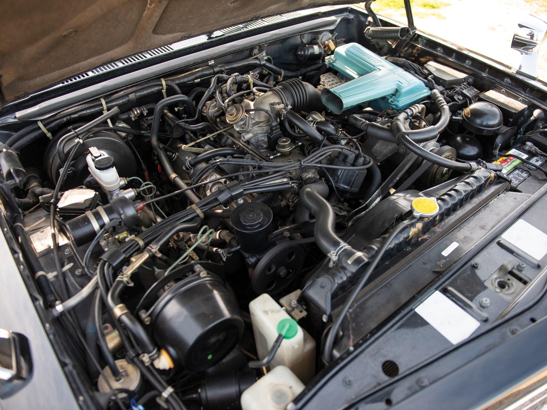 1987 Nissan President Sovereign V8E VIP engine