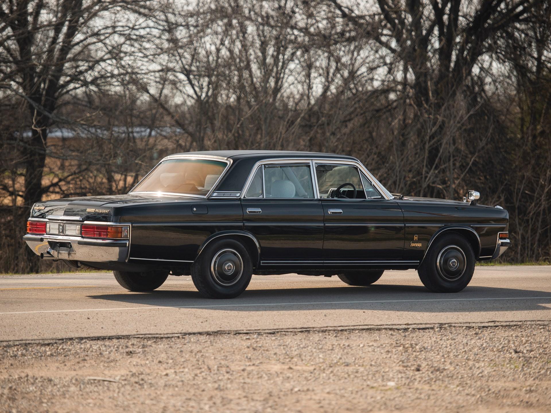 1987 Nissan President Sovereign V8E VIP 3/4 rear