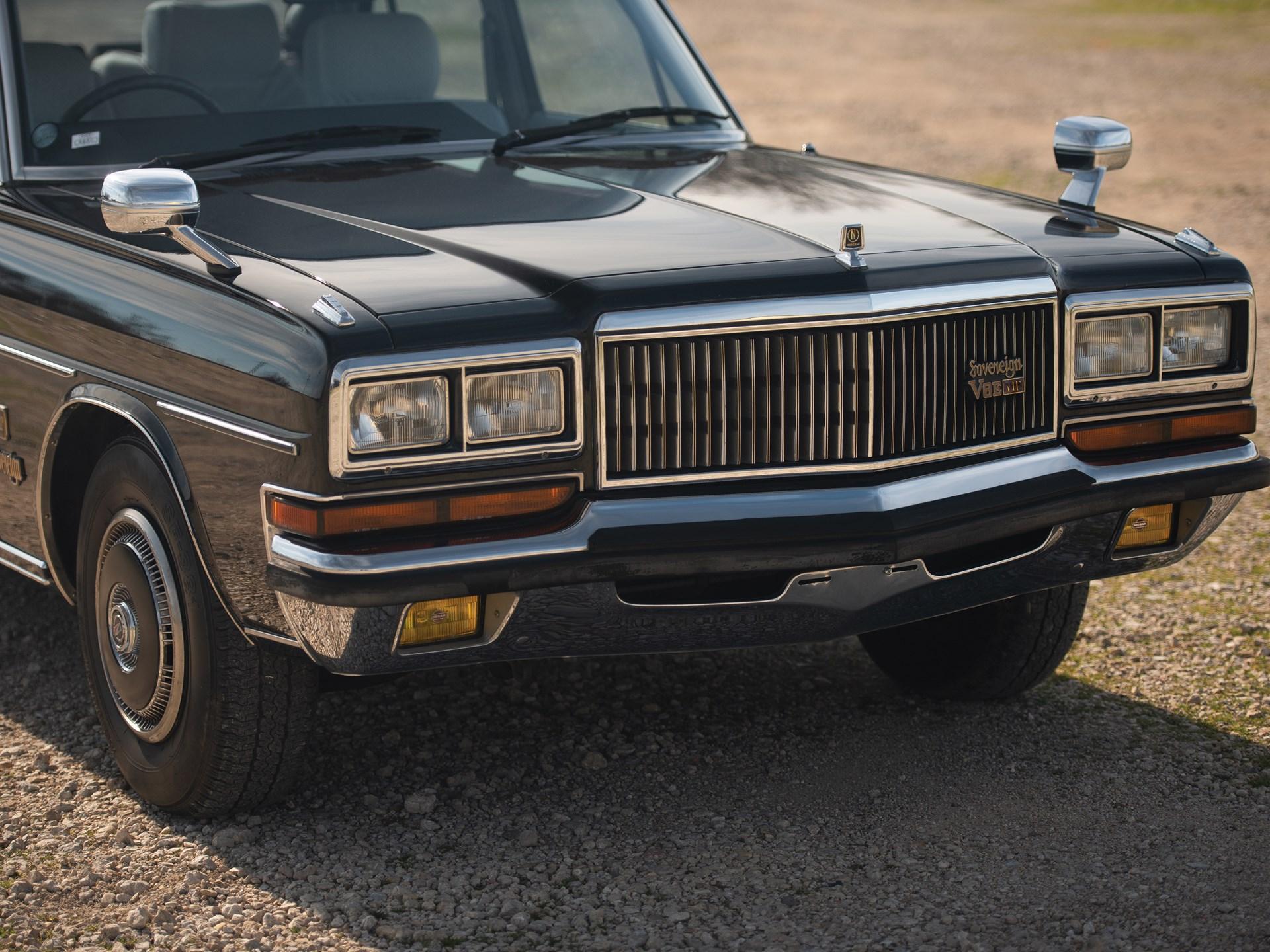 1987 Nissan President Sovereign V8E VIP front clip detail