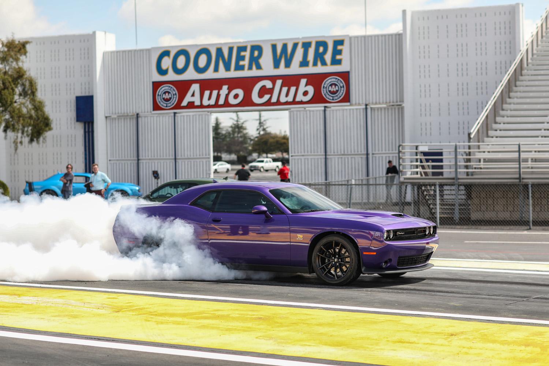 2019 Challenger R/T Scat Pack 1320 Burnout