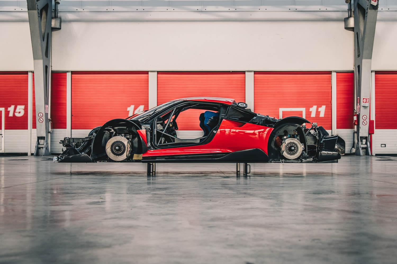 Ferrari P80/C profile broken down