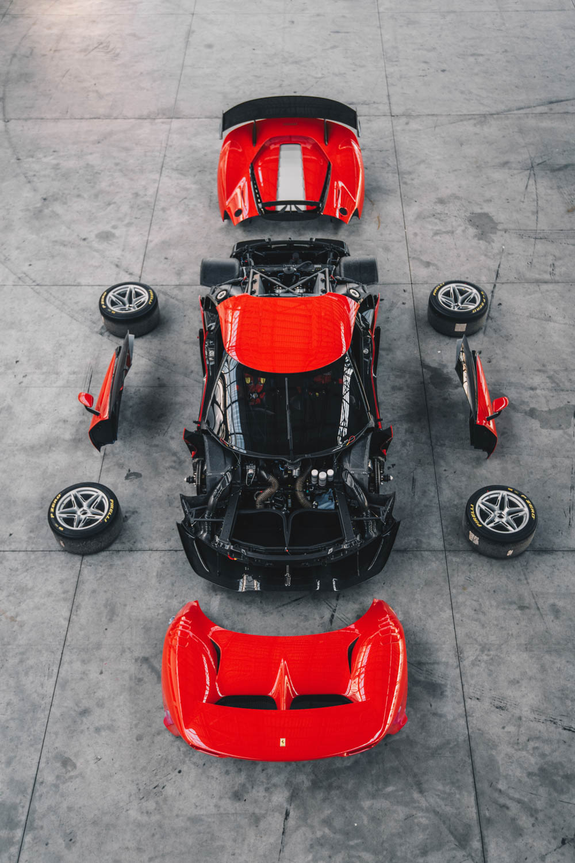 Ferrari P80/C apart