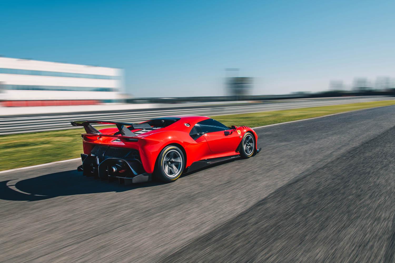 Ferrari P80/C racing