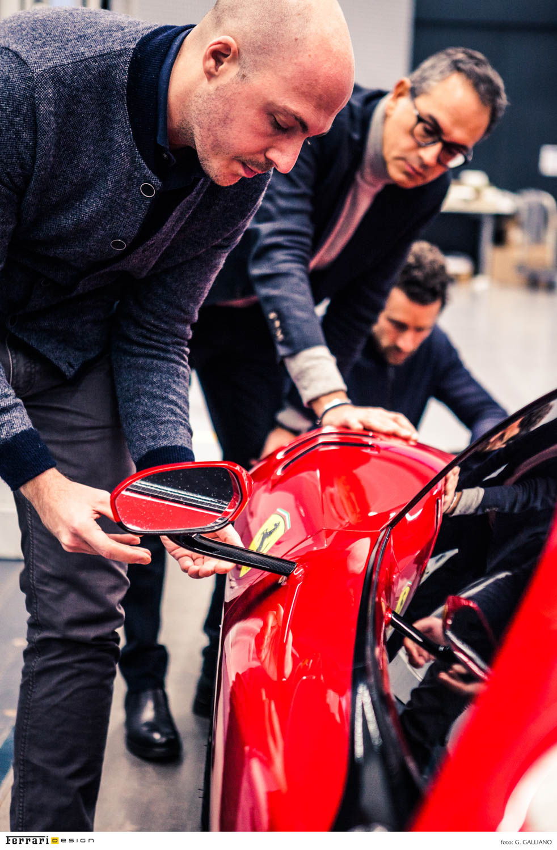 Ferrari P80/C side mirror