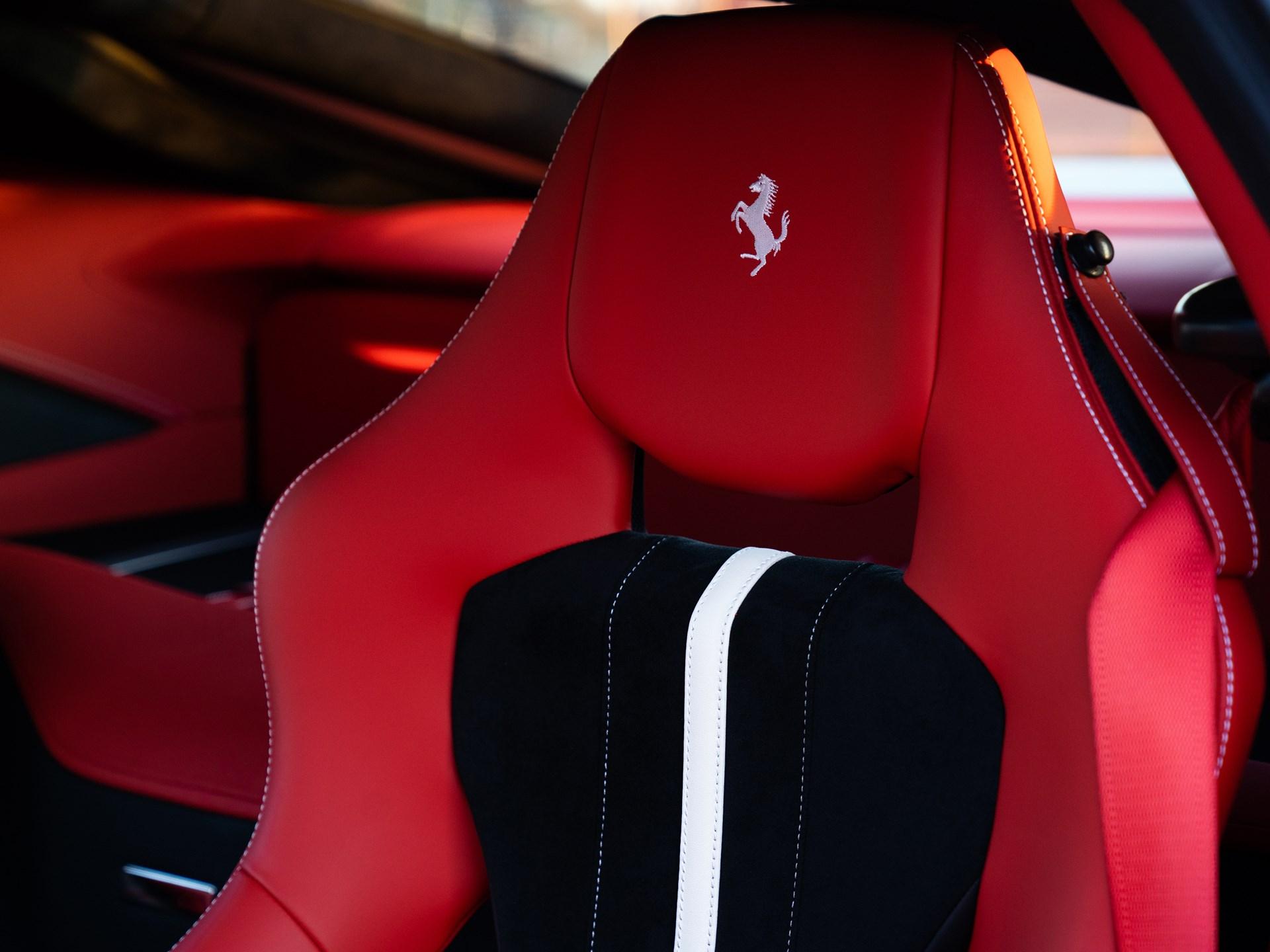 2017 Ferrari F12tdf seat