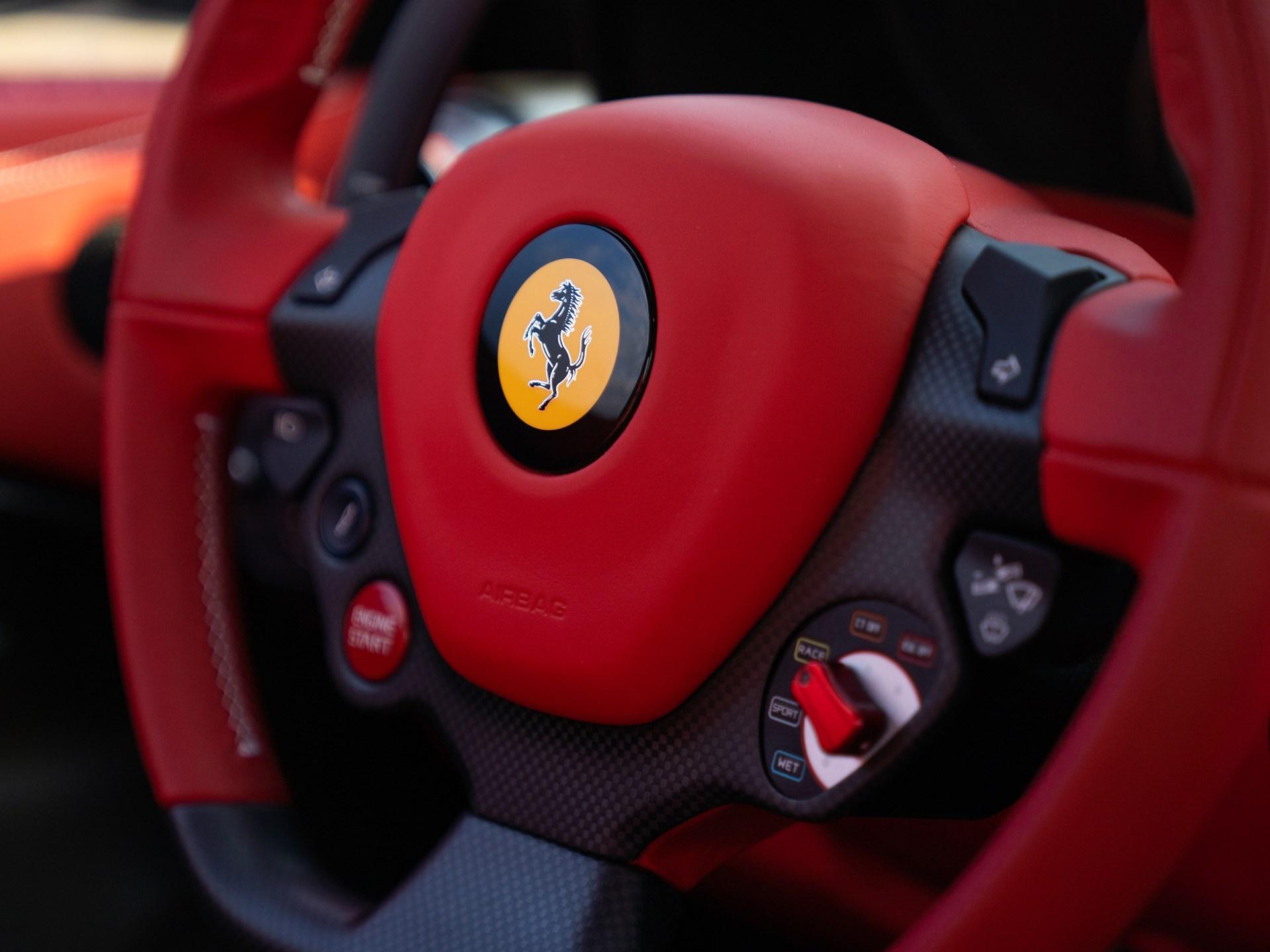 2017 Ferrari F12tdf steering wheel