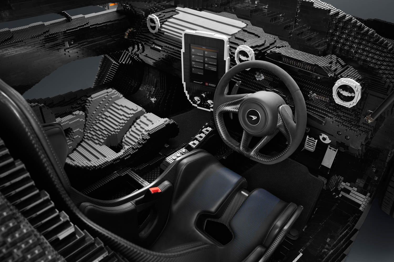 LEGO McLaren Senna interior