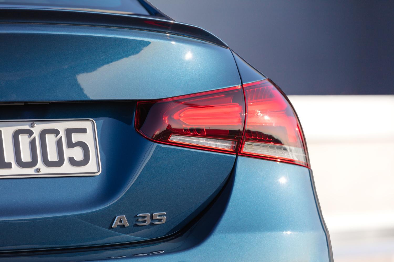 Mercedes-AMG A 35 badge