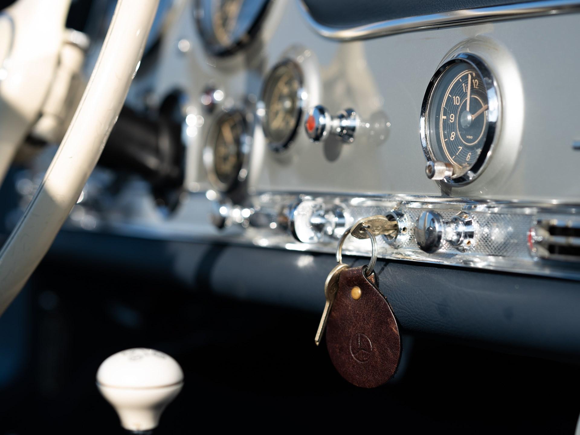 1955 Mercedes-Benz 300 SL Gullwing dash key