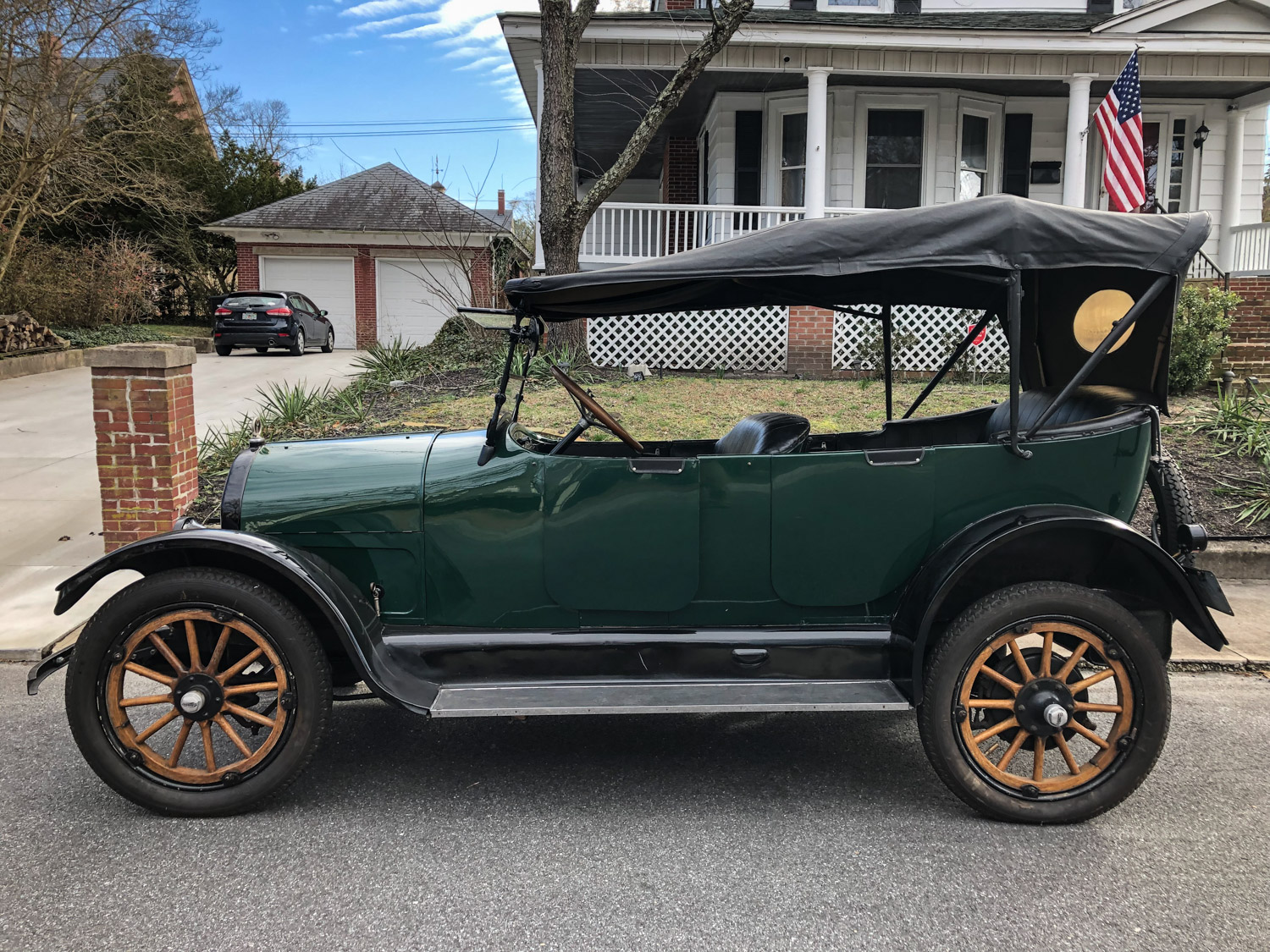 1917 Willys-Overland side profile