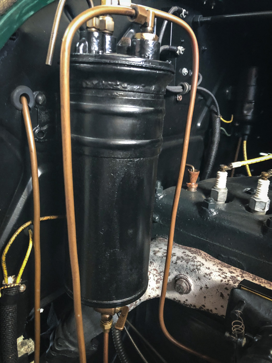 1917 Willys-Overland oil sump