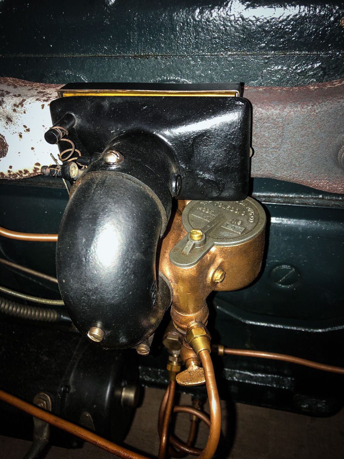 1917 Willys-Overland intake