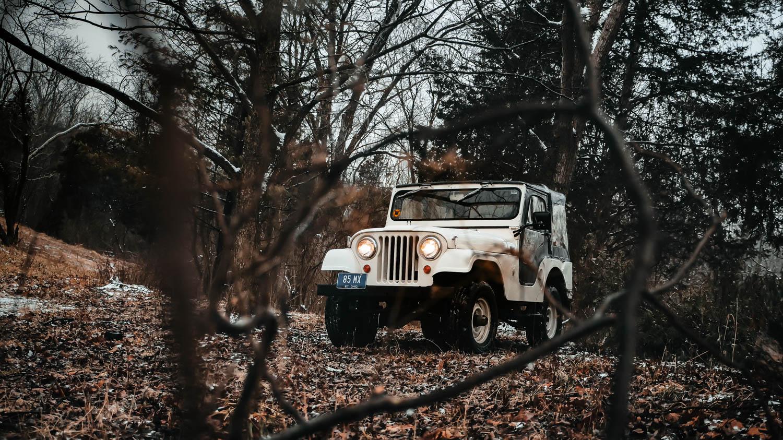 1967 Jeep CJ-5 front 3/4