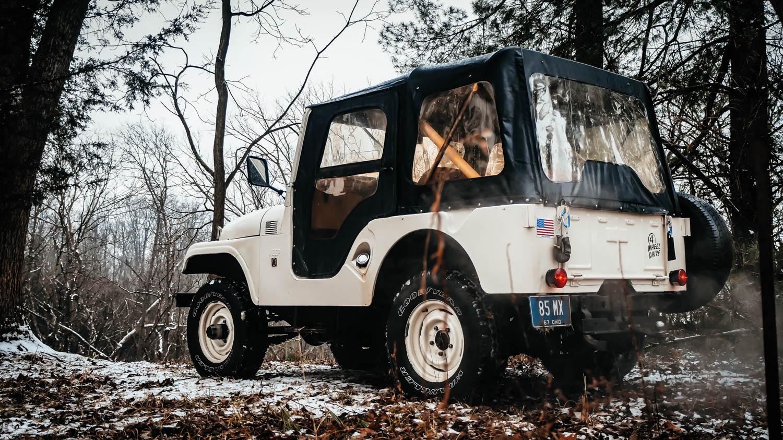 1967 Jeep CJ-5 rear 3/4