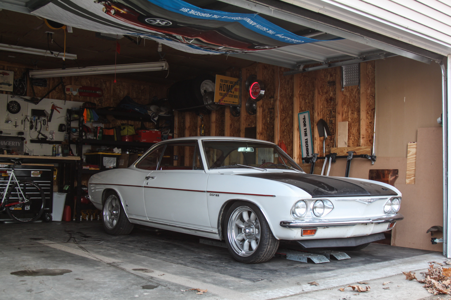 1965 Chevrolet Corvair Corsa 3/4 front