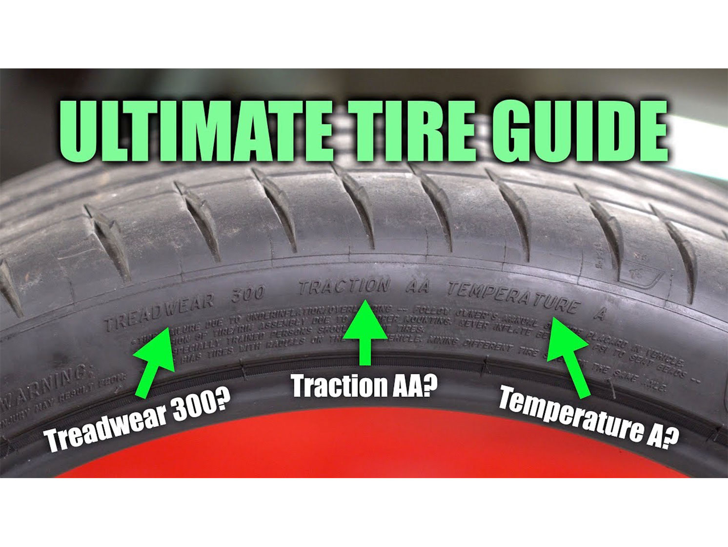 Listen to what your tire sidewalls are trying to tell you thumbnail