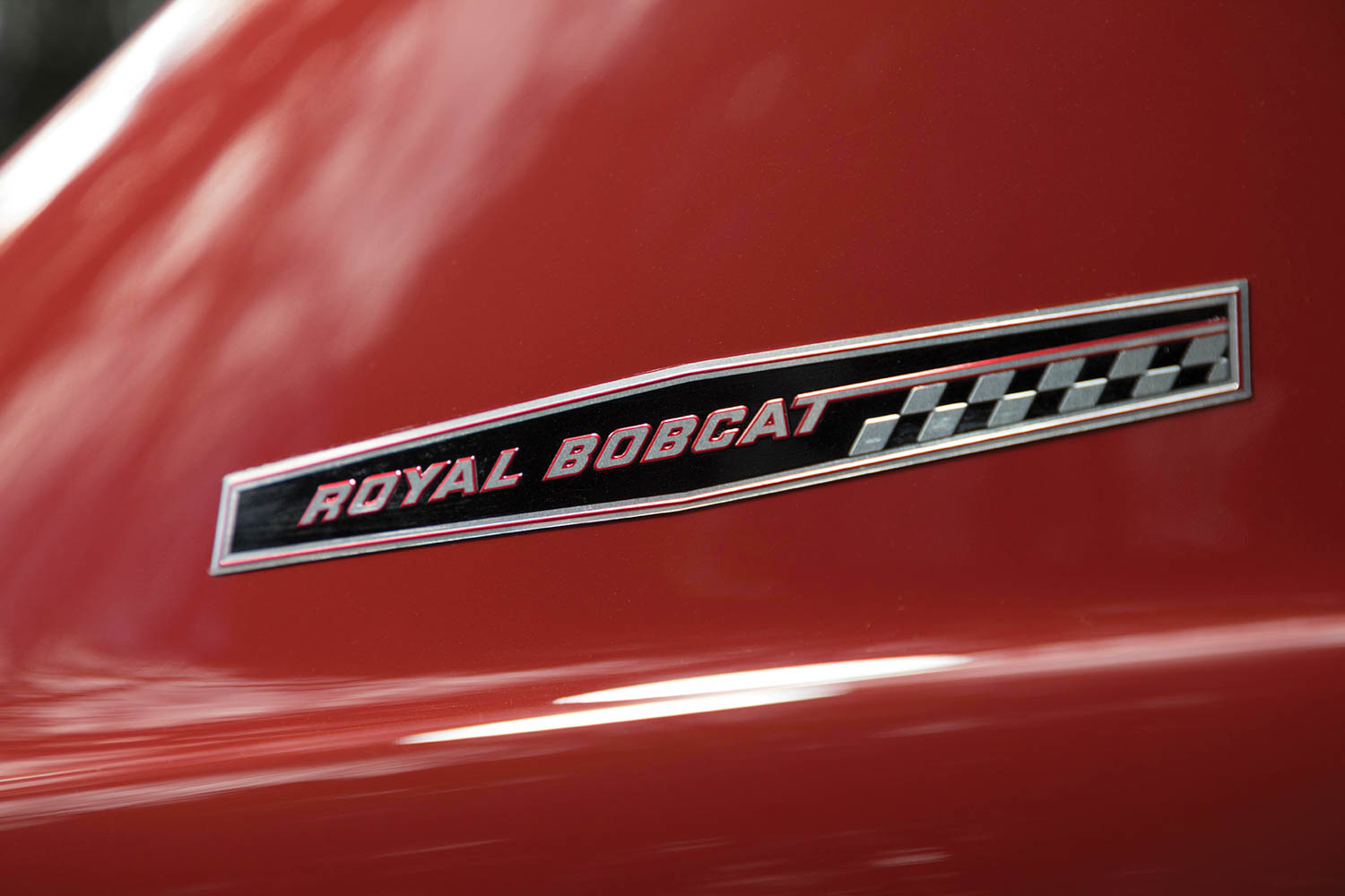 "The ""Royal Bobcat"" badge is a nod to the legendary dealership that first prepared this special car."