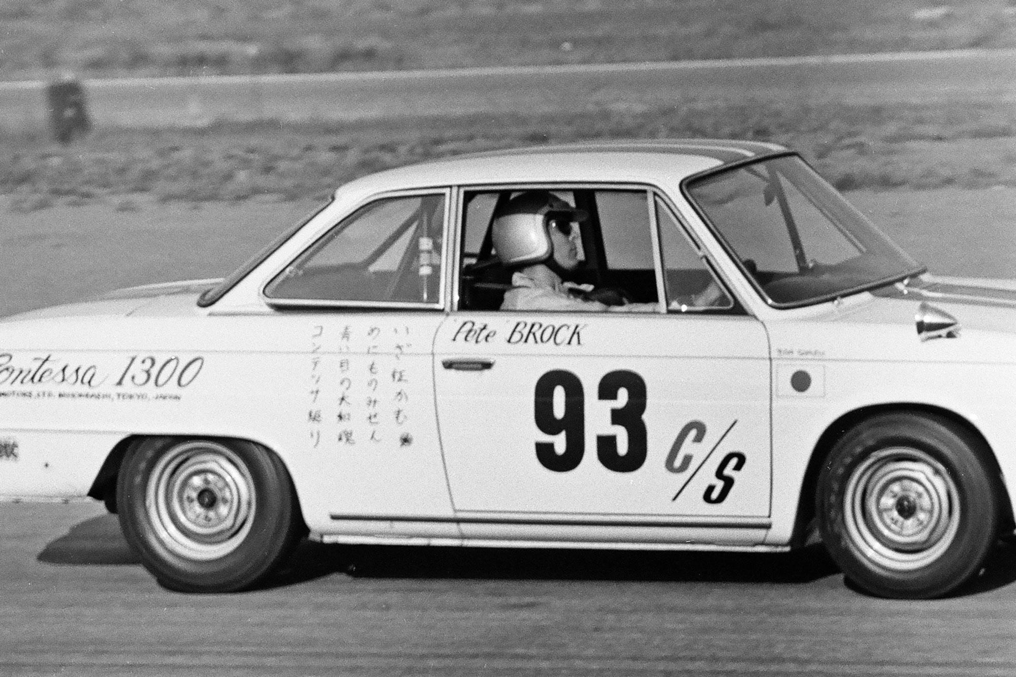 Contessa Pete Brock racing
