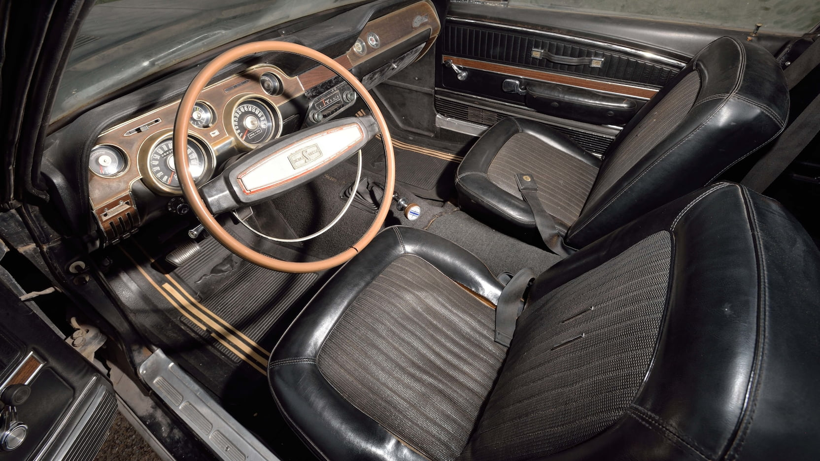 1968 Shelby GT500 Fastback interior