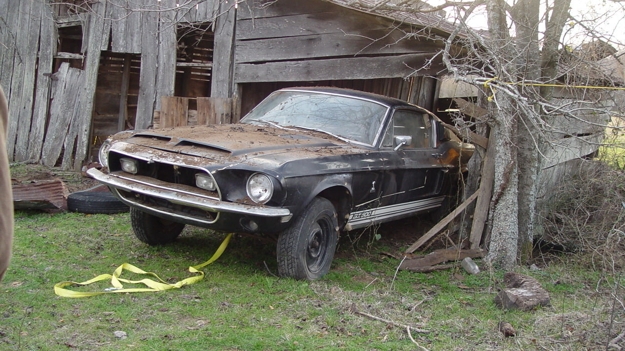 Barn Find 1968 Shelby GT500 Fastback found