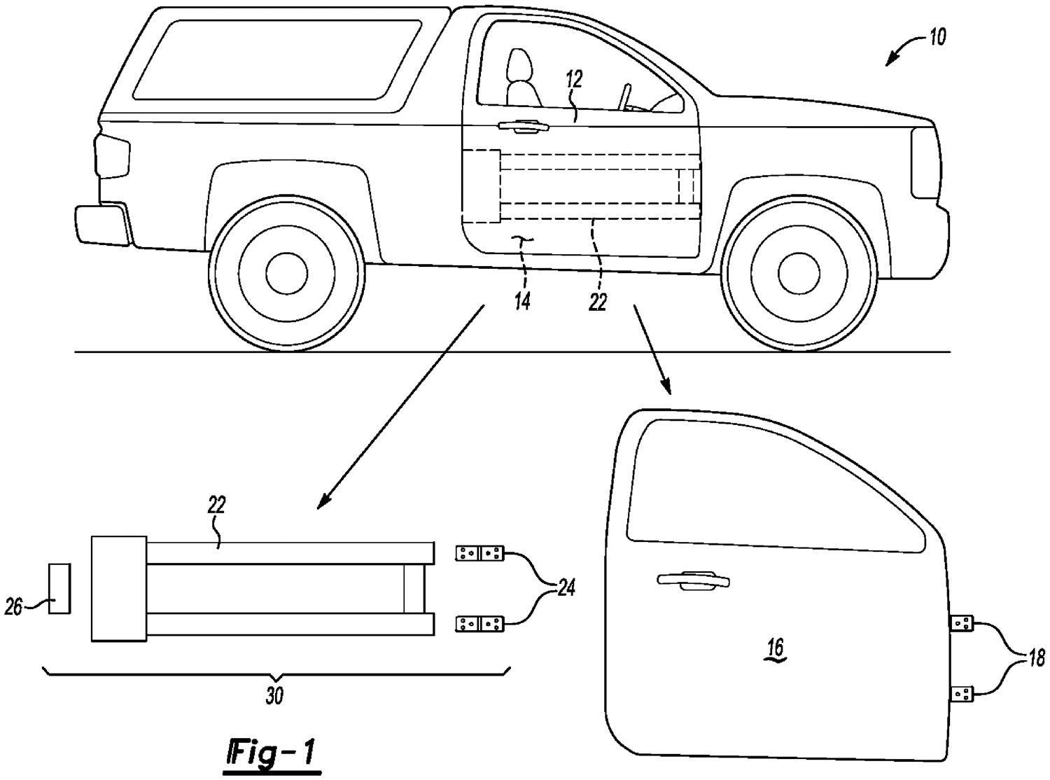 Uncovered Ford patent shows potential for 2020 Bronco's removable doors thumbnail