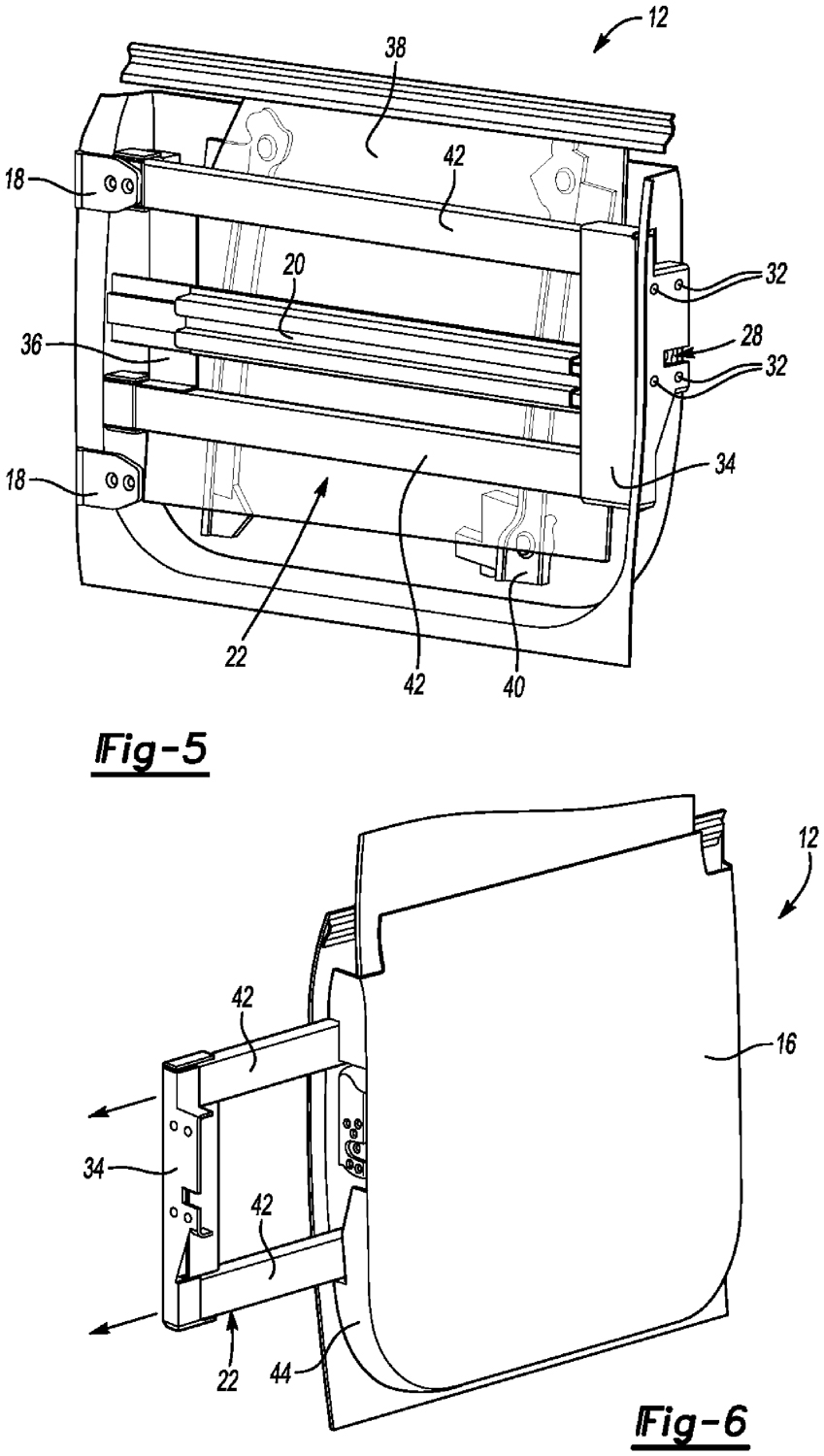 Bronco removable door section