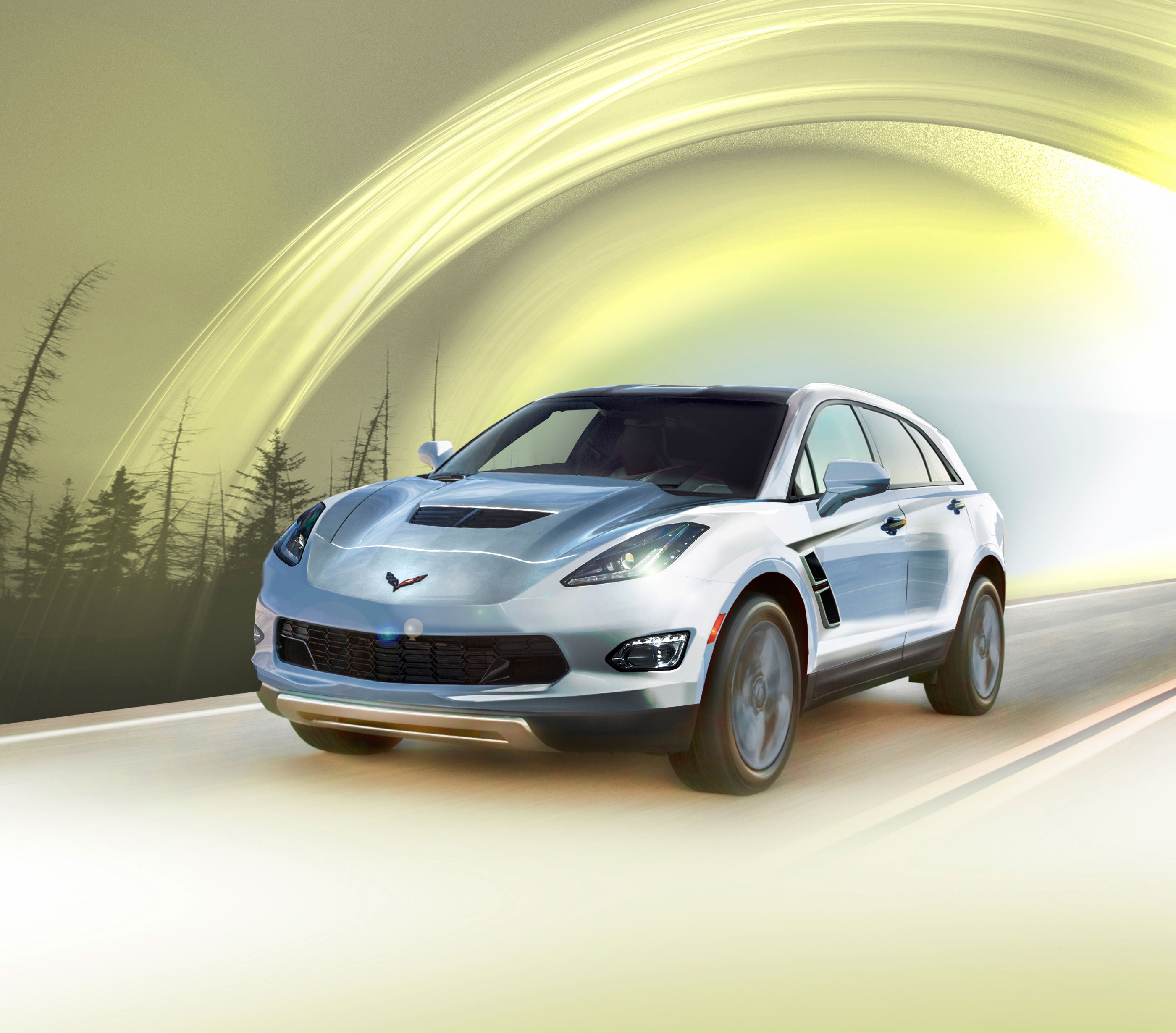 Flipboard: The Case For A Corvette SUV