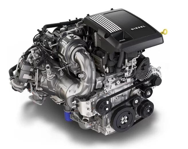 3.0-liter Duramax straight-six engine